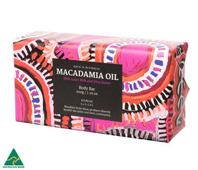 Alperstein Designs Macadamia Oil Soap & Hand Cream Set