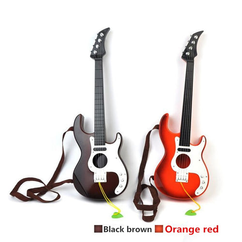Hot sale 1pcs Plastic Guitar baby developmental musical kids instruments baby music toys Preschool children musical instruments