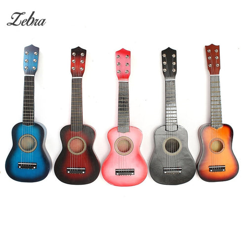 21'' Kids Acoustic Guitar 6 String Practice Music Instruments Children HOT Musical Toys Educational Games Music Guitar Gifts