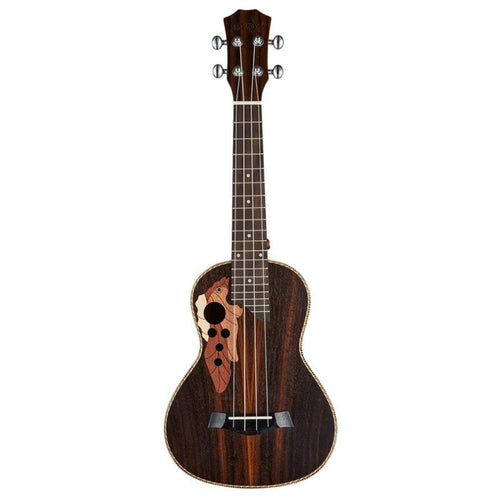 Rosewood Carved Four String Small Ukulele Guitar Grape-shaped Hole Musical Instruments Hawaiian Concert For Beginner