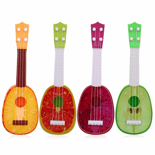 Super Cute Children 4 String Fruit Style Guitar Ukulele Musical Instrument Kids Christmas Gift Toy High Quality