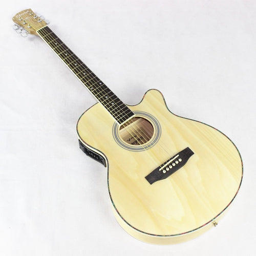Hot guitars 40 inch high quality Electric Acoustic Guitar Rosewood Fingerboard guitarra with guitar strings