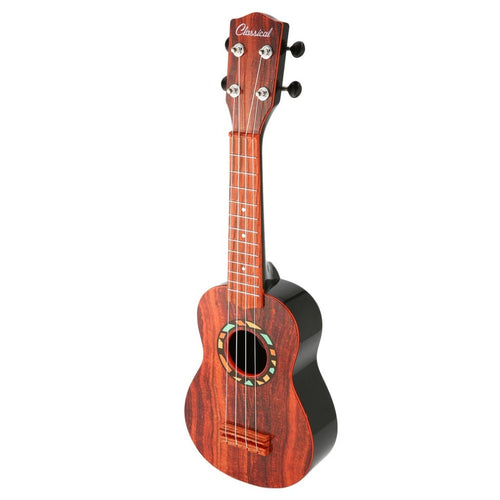 Portable Children Ukulele Guitar Musical Instrument Ukulele Kids Educational Toys Plastic Guitar Beginner Basic Players