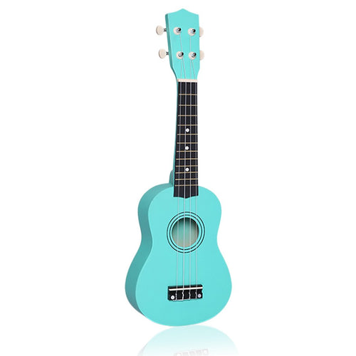Professional 21 inch Small Acoustic Soprano Ukulele 21 inch colorful basswood Ukulele for novice Guitar learner low price new ye