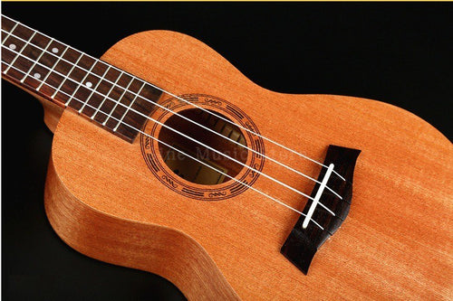 Ukulele Concert Acoustic 23inch Mahogany Hawaiian Guitar Rosewood Musical Instrument Children Gift Kid's Present Small Guitar