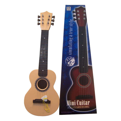6 Strings Mini Simulation Guitar Baby Kids Musical Toy Instruments Children Pretend Play Game Music Interest Development