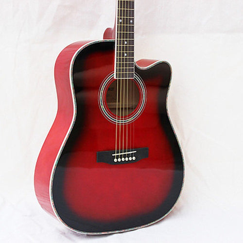 guitars 41 inch high quality Acoustic Guitar Rosewood Fingerboard guitarra with guitar strings