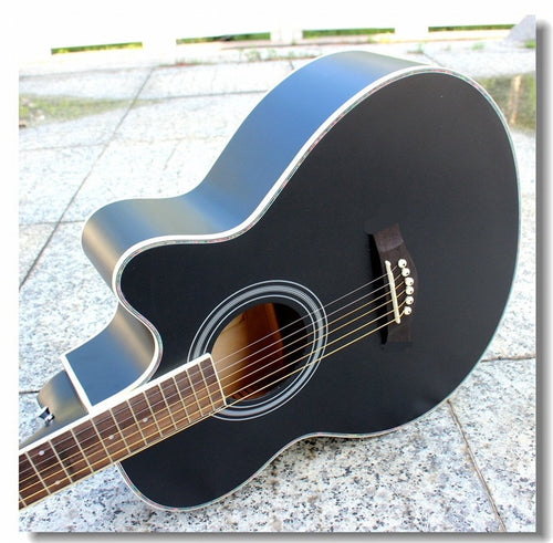G40-1 guitars 40 inch Acoustic Guitar basswood body rosewood fingerboard guitarra with guitar tuner strings