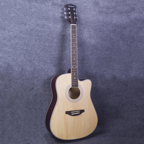 41-39 NEW 41 inch matte paint  Acoustic Guitar Rosewood Fingerboard guitarra with tuner strings
