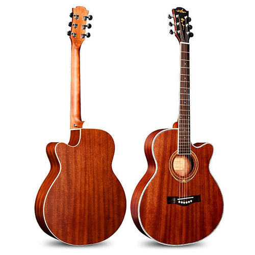 guitars 40 inch Acoustic Guitar Rosewood Fingerboard guitarra Sapele wood Musical Instruments with guitar strings
