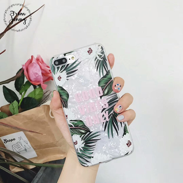 2018 New Fashion Soft White Flamingo Case Cover For IPhone X 6 6S 7 8 Plus Transparent Silicone Phone Cases Fundas Capa