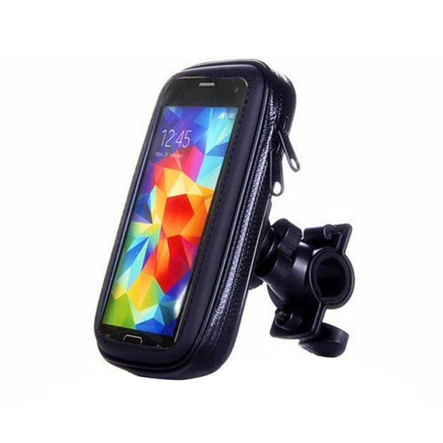 2018 New Phone Bags For Mobile Phones Bicycle Bike Phone Holder Mount Bracket Stand Waterproof Case Bag For Iphone 6 6s 7 8 X