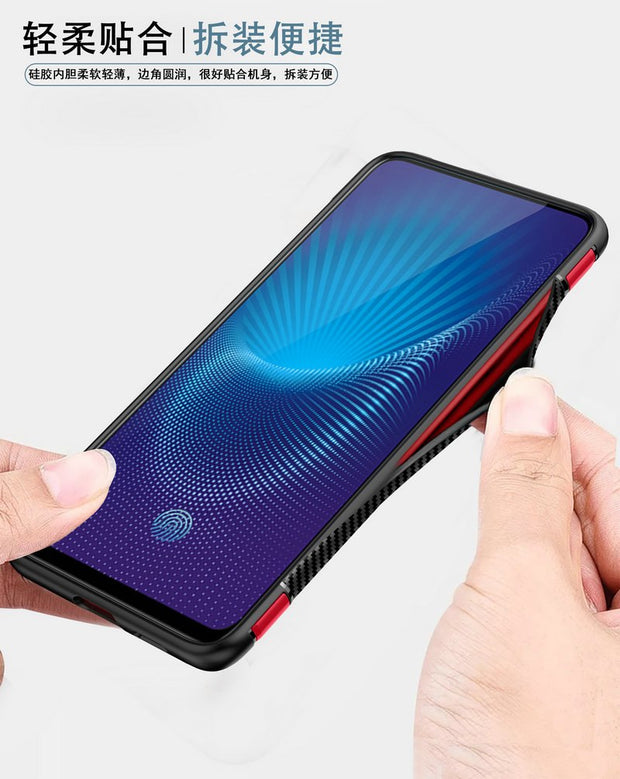 6.59'' VIVO NEX Case Luxury Ring Holder Car Mounted Hard Cover For Funda Vivo NEX A Case Coque Vivo Nex Cover 360 Full Protect