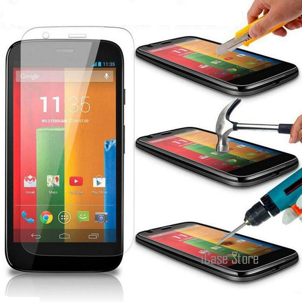 9H 2.5D Tempered Glass Screen Protector For Moto E E2 For Motorola G2 X Style Play G G2 G3 X X2 Google Nexus 6 Toughened Film