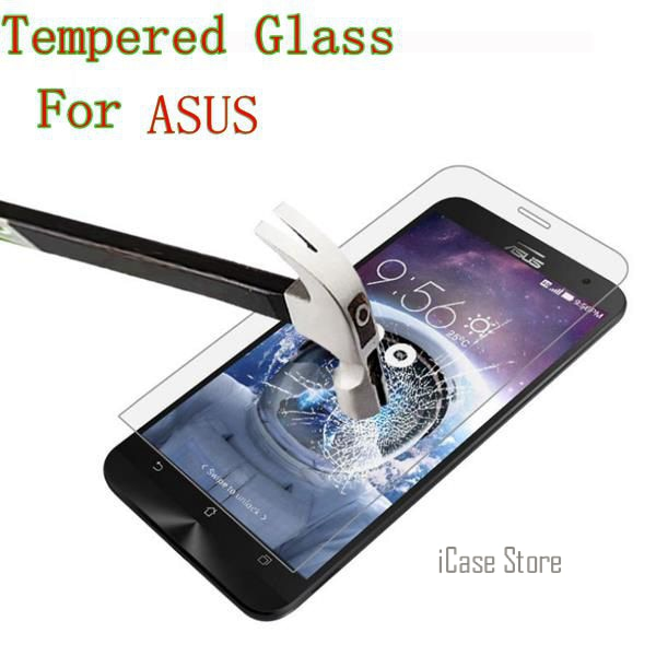 9H Tempered Glass For Asus ZenFone MAX C 6 GO 2 Laser ZE500CL ZE551ML ZC451CG A450CG A400CG A501CG Selfie ZC500TG ZE601KL Zoom