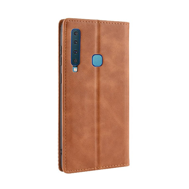 A9 2018 Case Flip For Samsung A9 2018 Case 6.3 Luxury PU Leather Cover Phone Case For Samsung Galaxy A9 2018 A920F A920 SM-A920F