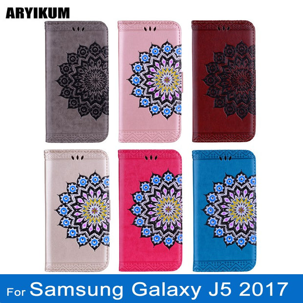 ARYIKUM 3D Phone Cases Coque For Samsung Galaxy J5 J 5 2017 J530 J530F Leather Wallet Silicone Back Cover For Sansung J5 Funda