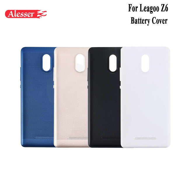 Alesser For Leagoo Z6 Battery Cover With Heat Dissipation Replacement Slim Protective Battery Case For Leagoo Z6 Mobile Phone