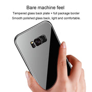 Anti-fall And Durable 360° Pc Glass Case Pc Tempered Glass Dissipate Heat Slim Design For Samsung Note8,s8,s8 Plus,s9,s9 Plus