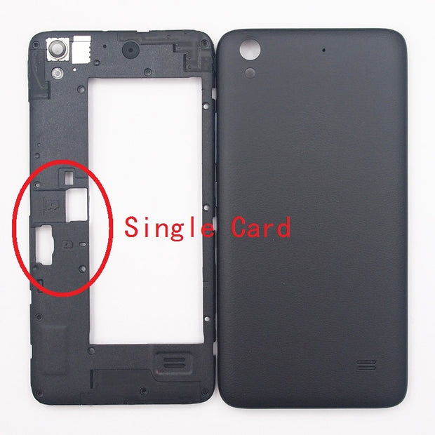 BaanSam New Middle Frame Battery Back Cover For Huawei Ascend ...