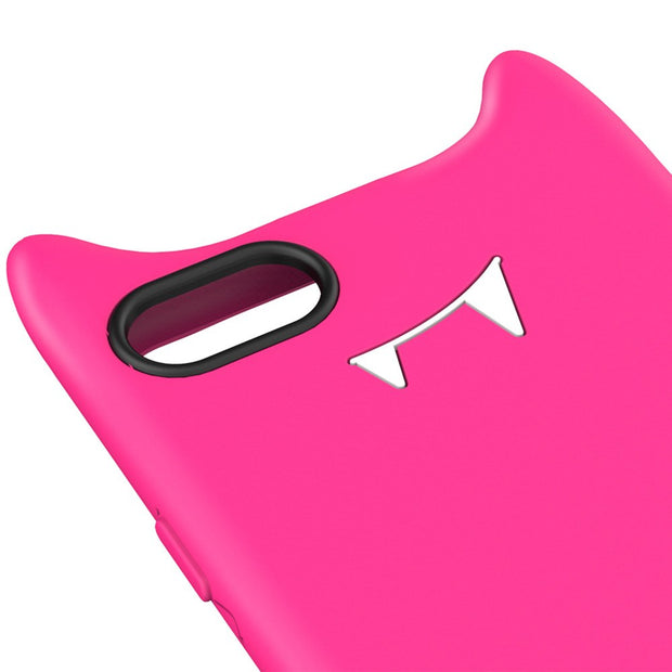 Baseus 5.5 Inch Soft Funny Devil Protective Mobile Phone Back Case Cover For IPhone 7 Plus
