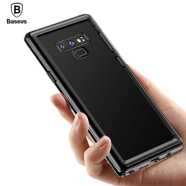 Baseus Clear Case For Samsung Note 9 Soft TPU Anti-Knock Transparent Silicone Protective Case For Galaxy Note 9 Back Cover Coque