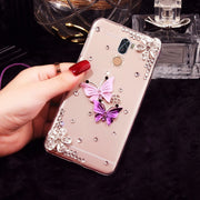 Beautiful Butterfly Phone Case For Samsung Galaxy A8 A9 Star Lite A6S A6 Plus A8S A7 A5 A3 2018 2017 2016 A9S Phone Cover