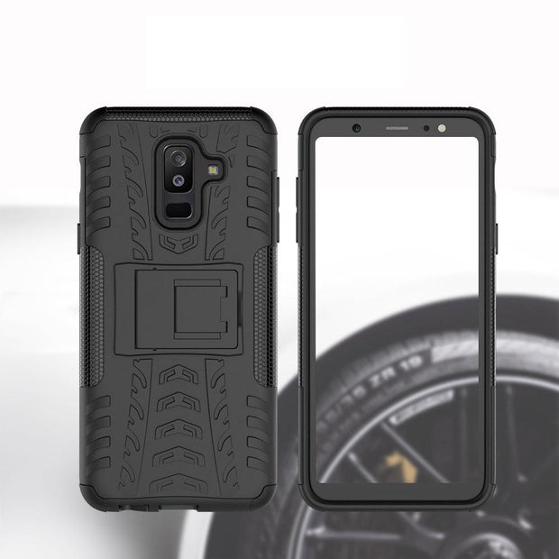 CAPF Sports Style Two In One TPU+PC Hyun Pattern Case For Samsung S10 Lite/S10 Plus/S10/S9 Plus/S9/S8/S8 Edge/Note 9/Note 8