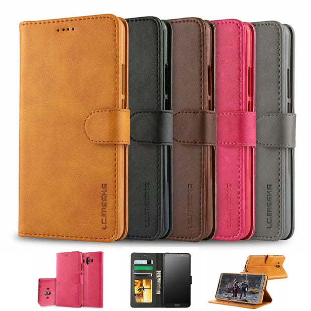 CARPRIE Leather Protection Case For Huawei Mate 10 Magnetic Flip Leather Wallet Cards Case Cover 5.9 Inch Dropshipp 1.22
