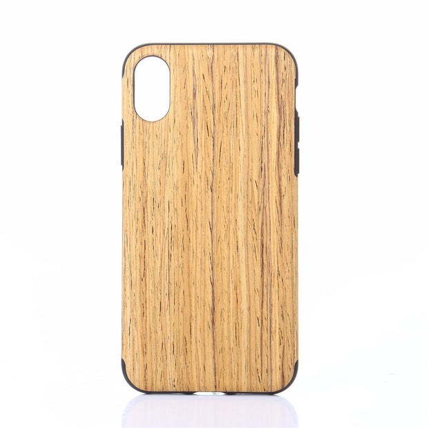 CARPRIE Mobile Phone Cases Wood Cover Case Premium Finish Unique Protective Cover For IPhone XSmax 6.5 Inch Td0928 Dropship