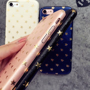 CHAOLIDA Wholesale Star PC Cell Phone Case Covers For Iphone X 6 6s 6plus 7 7plus 8 8plus Glitter Para Pele For Girls