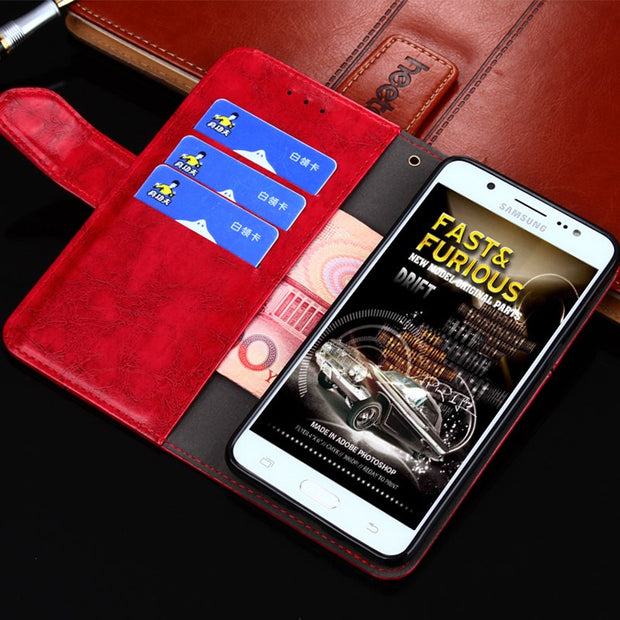 Case For Asus Zenfone 2 Laser ZE500KL Flip PU Leather & TPU Stand Wallet Case For Zenfone 2 Laser ZE500KL ZE550KL Cover