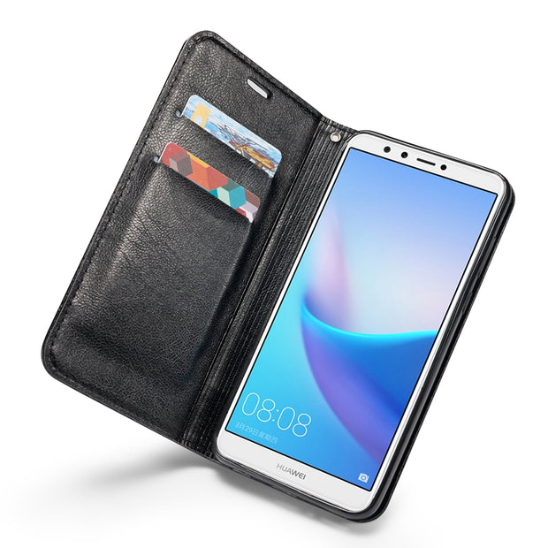 Case For Coque Huawei Honor 7C Case Leather Flip Cover For Fundas Huawei Honor 7C Capinha Wallet For Huawei Honor 7C Cases Etui