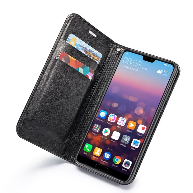Case For Coque Huawei P20 Lite Case Leather Flip Cover For Fundas Huawei P20 Lite Capinha Wallet For Huawei P20 Lite Cases Etui
