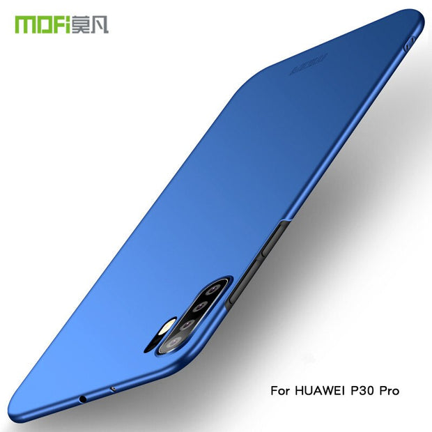 Case For Huawei P30 MOFi Brand Luxury 360 Full Body Cases Hard Frosted PC Back Cover For Huawei P30 Pro