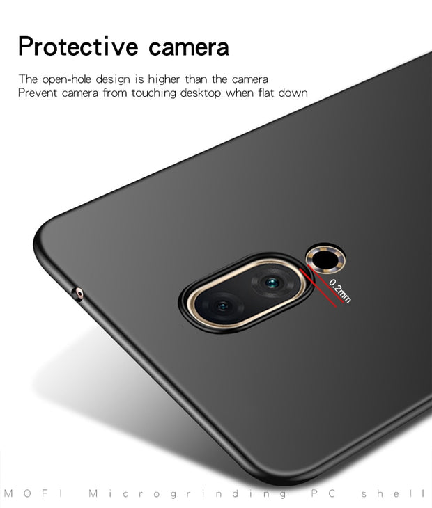 Case For Meizu 16th Plus MOFi Brand Luxury 360 Full Body Cases Hard Frosted PC Back Cover For Meizu 16 Plus