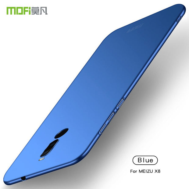 Case For Meizu X8 MOFi Brand Luxury 360 Full Body Cases Hard Frosted PC Back Cover For Meizu X8