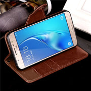 Case For Samsung Galaxy J5 2016 J5 6 J510 Luxury Leather Flip Wallet Phone Cover For Samsung Galaxy J5 Prime On 5 2016 Case Etui