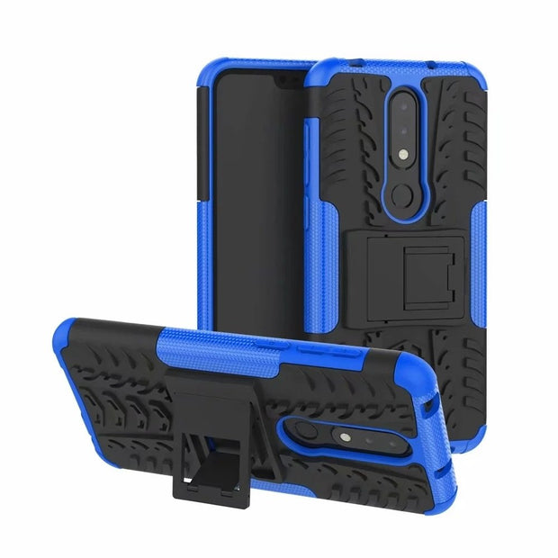 Case For Nokia X6 Shockproof Armor Phone Case Cover For Nokia X6 Coque
