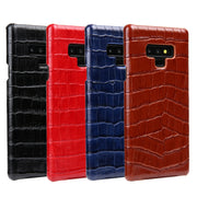 Case For Samsung Note 9 S9 S10 Plus Luxury Vintage Crocodile Genuine Leather Back Cover Case For Galaxy S10 Plus S10+ Note 9 8