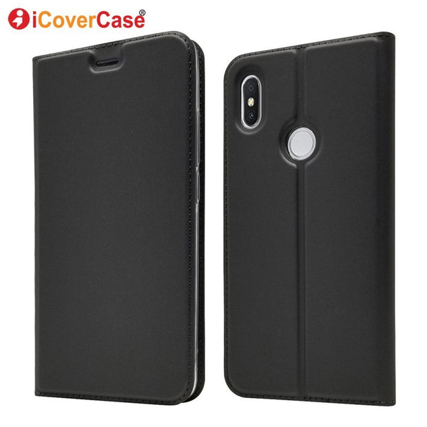 Cases For Redmi S2 Case Leather Wallet Bag For Xiaomi Redmi Y2 Mobile Phone Accessory Protector Soft Shell Cover Coque Etui Capa