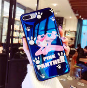 Cute Cartoon Pattern Case For IPhone 6 S 6S X 10 8 7 6Plus 6SPlus 7Plus 8Plus Cover Mirror Mickey Minnie