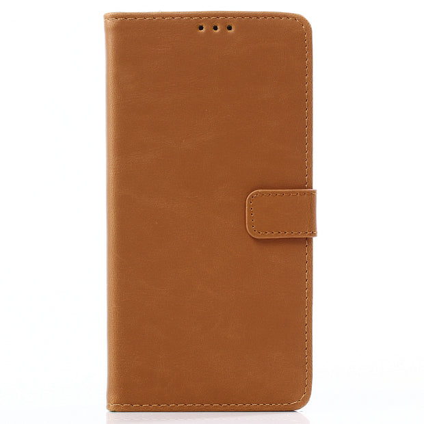 Dir-Maos For Samsung Galaxy A8 Star 2018 CASE Leather Flip Cover Business Wallet Credit Card Slot Money Pocket Fold Stand Men