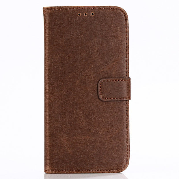 Dir-Maos For Samsung Galaxy J3 2018 CASE Leather Flip Cover Business Wallet Credit Card Slot Money Pocket Fold Stand Cool Men