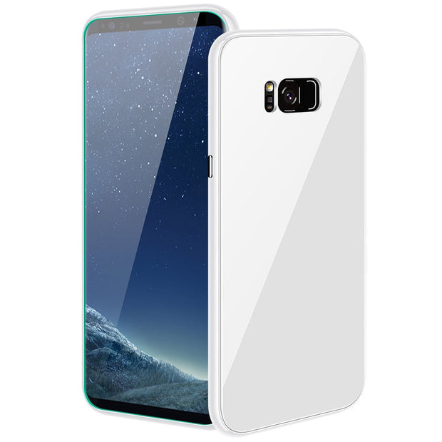 Dissipate Heat Anti-fall And Durable Slim Design 360° Pc Glass Case Pc Tempered Glass For Samsung Note8,s8,s8 Plus,s9,s9 Plus