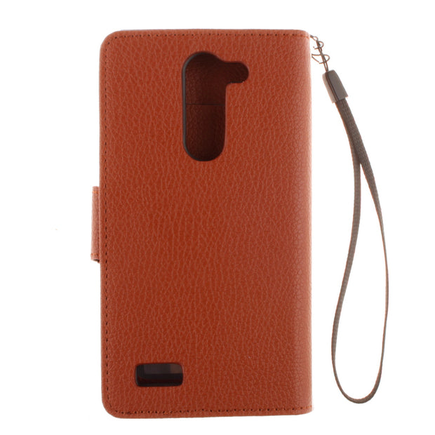 Double Magnet Case For LG L Bello D331 D335 D 331 335 Flip Case Phone Leather Cover For LG L Prime D337 D 337