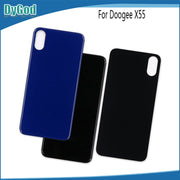 DyGod 100% New For Doogee X55 Battery Door Back Cover Housing Case For Doogee X55 With Camera Lens