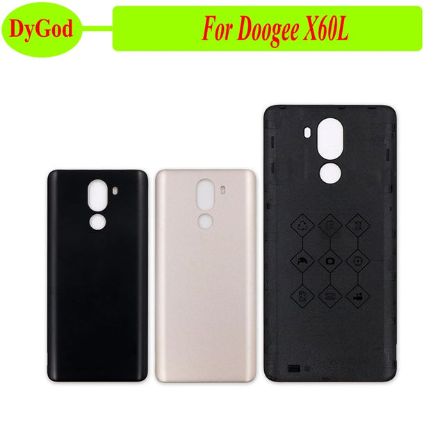 DyGod For Doogee X60L Battery Case Flip Cover For Doogee X60L Phone Protective Back Cover Housing Case