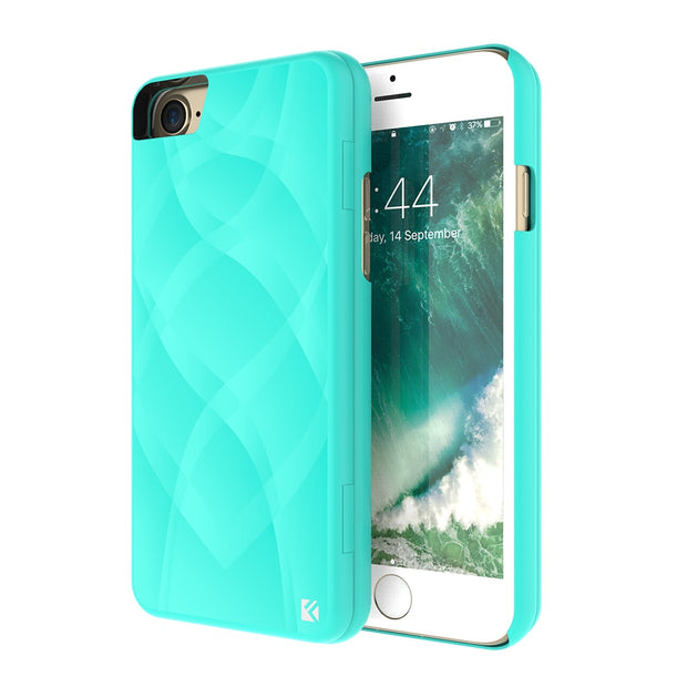 FLOVEME Luxury Makeup Mirror Case For IPhone 7 7 Plus 6 6s Plus Chic Dual Layer Flip Hard Protective Cover For IPhone 7 6 7 Plus