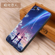 FOR OPPO A3 OppoA3 Black Edge Soft Silicon Phone Case Cover Mathematical Formula Graffiti Cartoon Cover Case 6.2 Inch